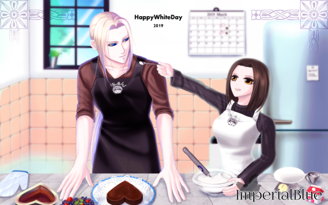 Whiteday2019 Sven&Miki