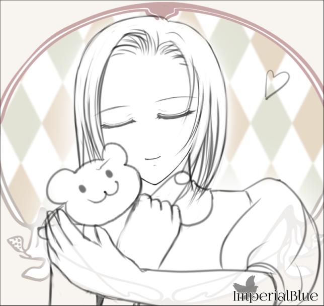 [02] ぬいぐるみを抱きしめる